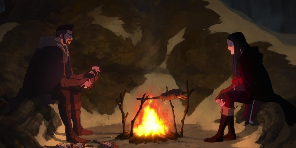 Nightmare of The Wolf Mengungkapkan Awal Brutal Witchers